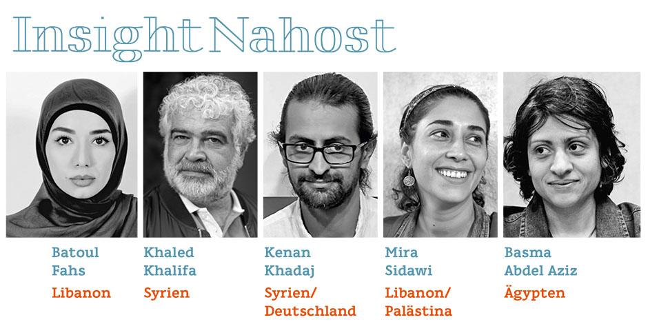 Insight Nahost – Jüngere arabische Literatur