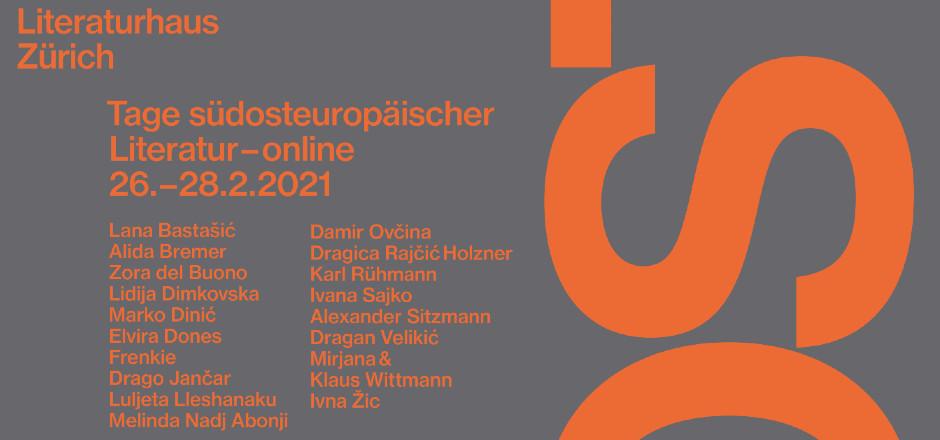 Tage südosteuropäischer Literatur vom 26. bis 28. Februar 2021